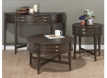 3PC Accent Table Set in Antique Gray Oak - 729-2