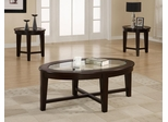 3PC Accent Table Set with Tapered Legs - 701511