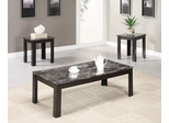 3PC Black Accent Table Set - 700375