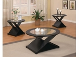 3PC X Shape Accent Table Set - 701501