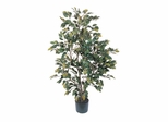 4' Ficus Silk Tree in Green - Nearly Natural - 5074