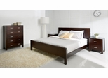 4-Piece Bedroom Furniture Set with King Size Bed - Hamptons - Abbyson Living - HM-5000-KG4