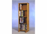 4 Row Dowel 80 Capacity DVD Cabinet Tower - 415-12