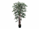 4' Ruscus Silk Tree in Green - Nearly Natural - 5082