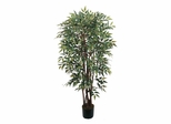 4' Similax Silk Tree in Green - Nearly Natural - 5081