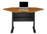 """42"""" Corner Desk - Series A Natural Cherry Collection - Bush Office Furniture - WC57442"""