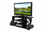 "47"" Flat Panel Plasma LCD HD TV Stand / Media Console Center in Glossy Black - TVS-827-1"