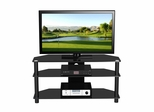 "47"" Flat Panel Plasma LCD HD TV Stand / Media Console Center in Glossy Black - TVS-973"