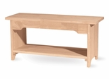 "48"" Brookstone Bench - BE-48"