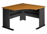 """48"""" Corner Desk - Series A Natural Cherry Collection - Bush Office Furniture - WC57466"""