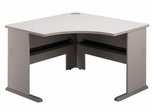 """48"""" Corner Desk - Series A Pewter Collection - Bush Office Furniture - WC14566"""