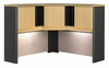 """48"""" Corner Hutch - Series A Beech Collection - Bush Office Furniture - WC14367"""