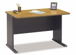 """48"""" Desk - Series A Natural Cherry Collection - Bush Office Furniture - WC57448"""