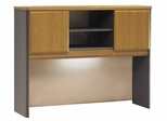 """48"""" Hutch - Series A Natural Cherry Collection - Bush Office Furniture - WC57449"""