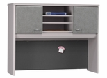 """48"""" Hutch - Series A Pewter Collection - Bush Office Furniture - WC14549"""