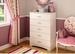 5-Drawer Chest in pure White - Step One - South Shore Furniture - 3160035
