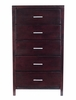 5 Drawer Chest - Nevis Espresso - Modus Furniture - NV2384