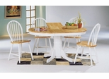 5-Piece Dining Set 3 in Natural / White - Coaster