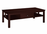 """50"""" Contemporary Asian Style Coffee Table in Wenge - FT50AC"""