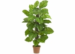"""52"""" Large Leaf Philodendron Silk Plant(Real Touch) - Nearly Natural - 6583"""