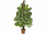 """52"""" Large Leaf Philodendron Silk Plant(Real Touch) - Nearly Natural - 6588"""