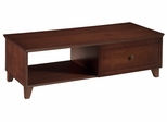 """54"""" Shaker Style Coffee Table in Dark Cherry - FT54SC"""