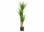 """58.5"""" Yucca Silk Tree in Green - Nearly Natural - 5237"""