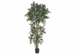 6' Green Ash Silk Tree in Green - Nearly Natural - 5285