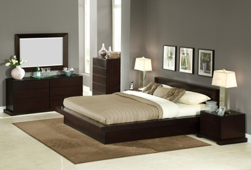 6-Piece Bedroom Furniture Set with King Size Bed - Zurich - Lifestyle Solutions - ZUR-6PEK-CP-SET