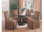 6-Piece Dining Set in Terracotta / Red Floral - Coaster