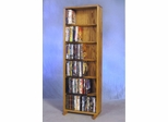 6 Row Dowel 180 Capacity DVD Cabinet Tower - 615-18