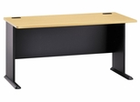 """60"""" Desk - Series A Beech Collection - Bush Office Furniture - WC14360"""