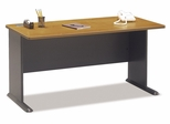 """60"""" Desk - Series A Natural Cherry Collection - Bush Office Furniture - WC57460"""