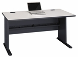 """60"""" Desk - Series A Slate Collection - Bush Office Furniture - WC8460A"""