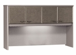 """60"""" Hutch - Series A Pewter Collection - Bush Office Furniture - WC14561"""