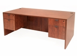 60 Inch Desk with Double Pedestals - Legacy Laminate - LDP6030