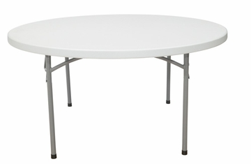 """60"""" Round Folding Table - National Public Seating - BT-60R"""