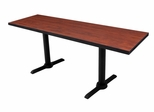 "60""x24"" Cain Rectangular Training Table - ROF-MTRCT6024"