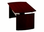 63 Inch Desk in Mahogany - Mayline Office Furniture - ND63MAH