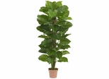 """63"""" Large Leaf Philodendron Silk Plant (Real Touch) - Nearly Natural - 6594"""