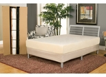 """7"""" Complete Bed To Go Twin Size - Easy Assembly - No Tools"""