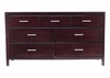 7 Drawer Dresser - Nevis Espresso - Modus Furniture - NV2382