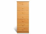 7 Drawer Lingerie Chest in Oak - Prepac Furniture - OBD-2050-7