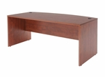 """71"""" Bow Front Desk Shell - ROF-SDSBF7135"""