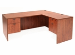 71 Inch L-Shaped Desk - Legacy Laminate - LLD7135