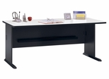"""72"""" Desk - Series A Slate Collection - Bush Office Furniture - WC84872"""