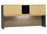 """72"""" Hutch - Series A Beech Collection - Bush Office Furniture - WC14373"""