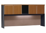 """72"""" Hutch - Series A Natural Cherry Collection - Bush Office Furniture - WC57473"""