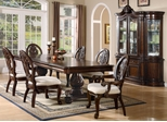9-Piece Dining Room Furniture Set in Cherry - Coaster - COAST-11010371-DSET-1