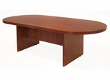 95 Inch Race Track Conference Table - Legacy Laminate - LCTRT9543